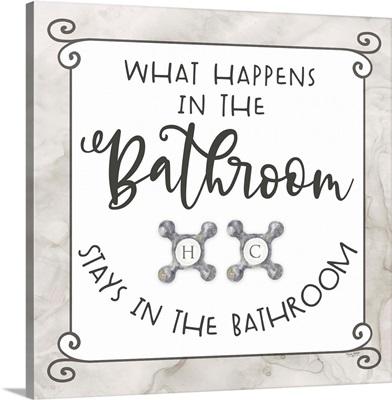 Bath Humor What Happens