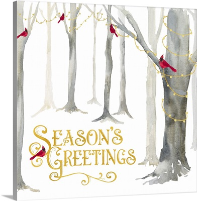 Christmas Forest IV - Seasons Greetings