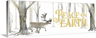 Christmas Forest Panel II - Peace on Earth