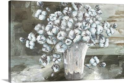 Farmhouse Cotton Bolls Still life