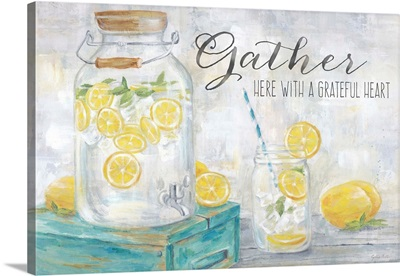Gather Here Country Lemons Landscape