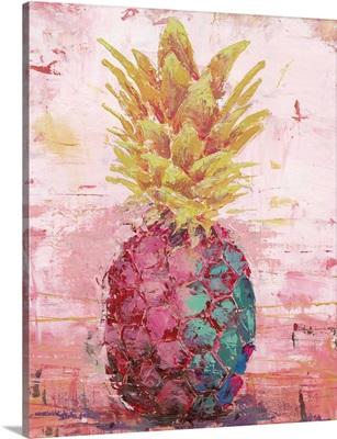 Painted Pineapple I