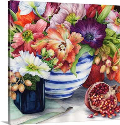 Vibrant Bouquet Still Life