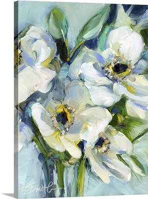 White Floral Still Life