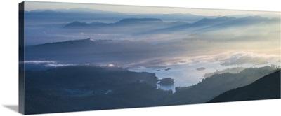 Adams Peak view at sunrise, Sri Lanka