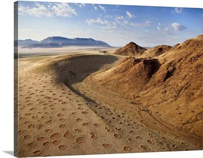 Aerial View From Hot Air Balloon, Namib Rand Game Reserve Namib Naukluft Park, Namibia
