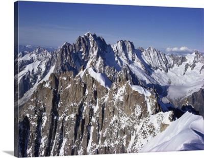 Aiguille du Midi, Rhone Alpes, France