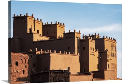 Ait Ben-Haddou Kasbah In The Morning, Morocco, North Africa