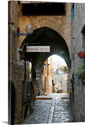 Alleys in the Old Jaffa, Tel Aviv, Israel, Middle East
