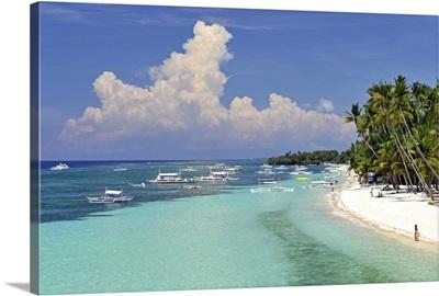 Alona Beach, Panglao, Bohol, Philippines, Southeast Asia, Asia