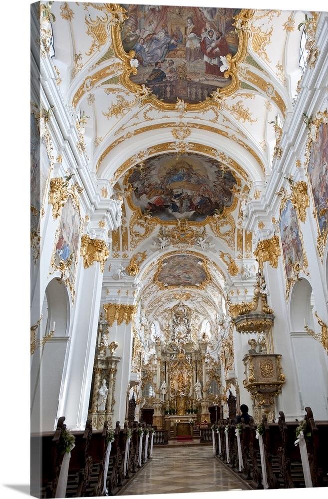 Alte Kapelle, Regensburg, Bavaria, Germany Wall Art