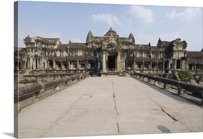 Angkor Wat temple, 12th Century, Khmer, Siem Reap, Cambodia