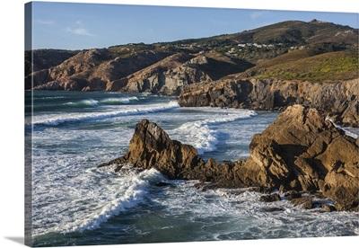 Atlantic Ocean, coast near Lisbon, Portugal