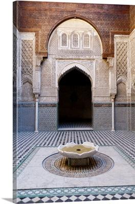 Attarine Madrasah, Fez, Morocco, North Africa, Africa