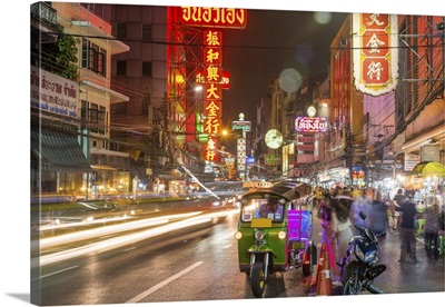Bangkok At Night, Bangkok, Thailand
