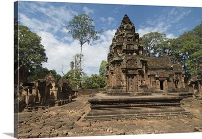 Banteay Srei Hindu temple, nr Angkor, Siem Reap, Cambodia