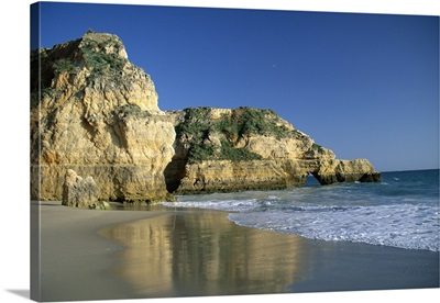 Beach, Praia da Rocha, Algarve, Portugal, Europe