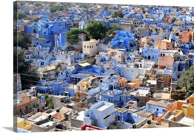 Blue City, Jodhpur, Rajasthan, India