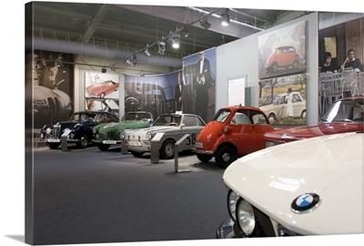 BMW car museum, Munich, Bavaria, Germany