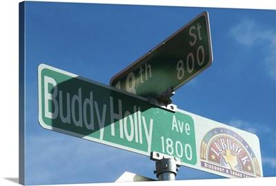 Buddy Holly Avenue, Lubbock, Texas