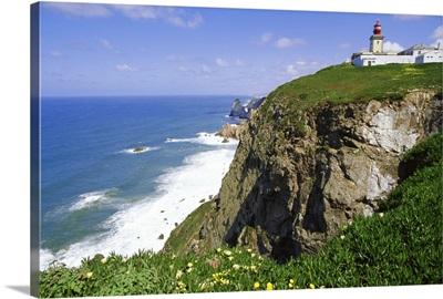 Cabo da Roca's westernmost point, Sintra-Cascais Natural Park, Estremadura, Portugal