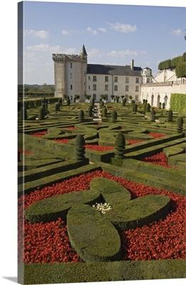 Chateau de Villandry, Indre-et-Loire, Loire Valley, France