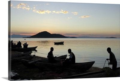 Chembe village, Cape Maclear, Lake Malawi, Malawi, Africa