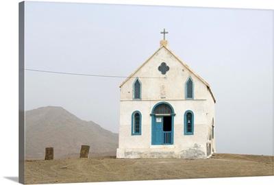 Church near Salinas, Sal, Cape Verde Islands, Africa
