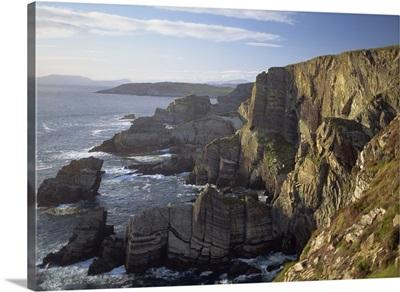 Cliffs at Mizen Head, County Cork, Munster, Republic of Ireland