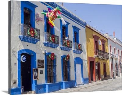 Colorful street, Oaxaca, Mexico