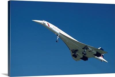Concorde in flight