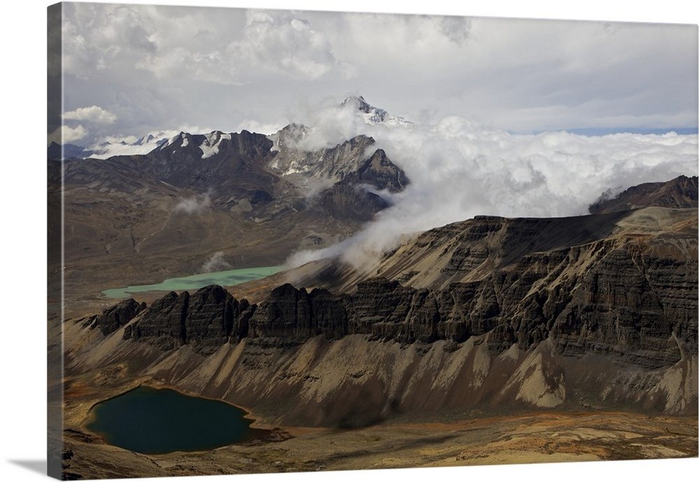 Cordillera Real Calahuyo Andes Mountains Bolivia South America Wall Art Canvas Prints Framed Prints Wall Peels Great Big Canvas