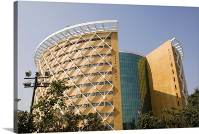 Cyber Towers in Hi-Tech city, Hyderabad, Andhra Pradesh state, India