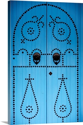Door In Houmt Souk, Jerba Island, Tunisia, North Africa, Africa