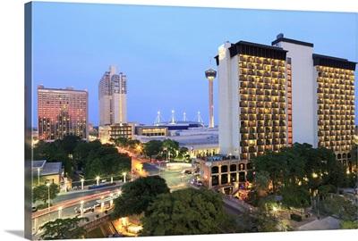 Downtown skyline, San Antonio, Texas