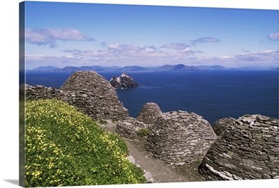 Early Christian settlement, Skellig Michael, County Kerry, Munster, Eire