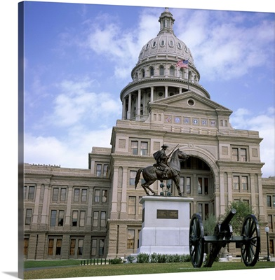 Exterior of the State Capitol Building, Austin, Texas, USA