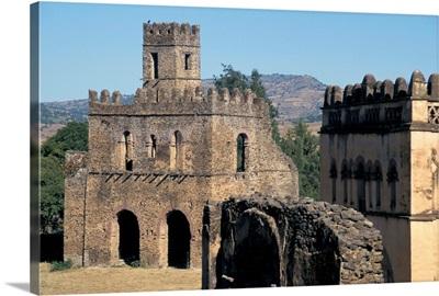 Fasildas Castles, Gondar, Ethiopia, Africa