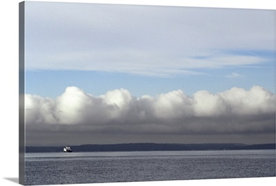 Ferry route from West Seattle to Vashon Island, Puget Sound, Washington State