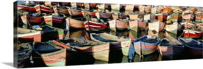 Fishing harbour, El Jadida, Atlantic coast, Morocco, North Africa, Africa