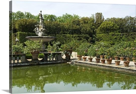 Fontana dell\'Oceano, Boboli Garden, Florence (Firenze), Tuscany ...