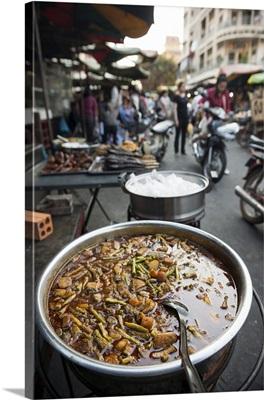 Food market, Phnom Penh, Cambodia