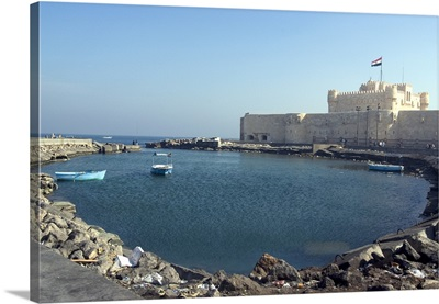 Fort and Harbour, Alexandria, Egypt, Africa