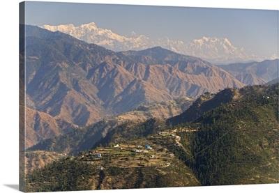 Gangotri Mountains, Garwhal Himalaya, Uttarakhand, India