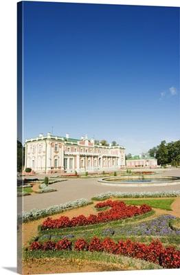 Garden at Kadriorg Palace, Tallinn, Estonia