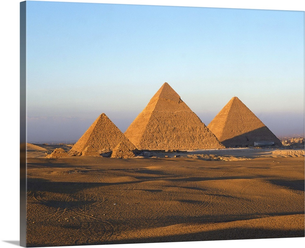Giza Pyramids, Giza, Cairo, Egypt, North Africa