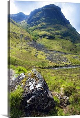 Glen Coe, south of Fort William, Scotlish Highlands, Scotland, UK