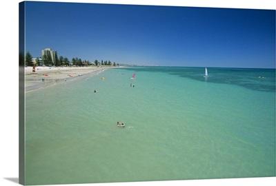 Glenelg Beach, Adelaide, South Australia, Australia, Pacific