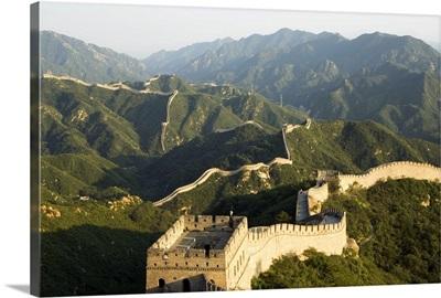 Great Wall of China at Badaling, near Beijing, Hebei Province, China