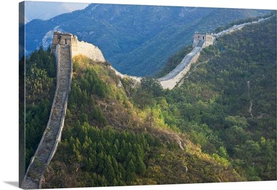 Great Wall of China, Huanghuacheng, Wild Wall, Jiuduhe town, Huairou ...